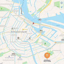 Kilimanjaro take me away Amsterdam map