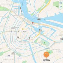 Kilimanjaro take me away Amsterdam map