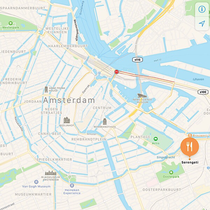 Serengeti Amsterdam map