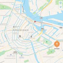 Serengeti Amsterdam map