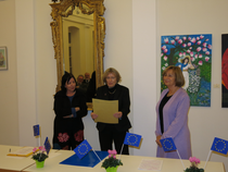 Preisträgerin Helene Breining