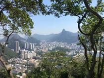 Blick auf Rio vom Zuckerhut aus