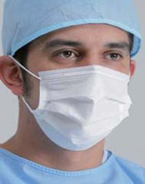 Медицинская маска одноразовая трехслойная FMR 301