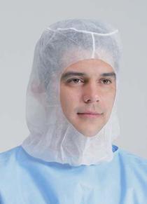 Хирургический капюшон с завязками
