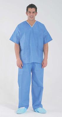 Костюм медицинский с короткими рукавами