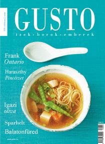 gusto magazín címlap