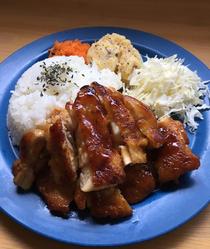 チキンプレート @いとまるcafe
