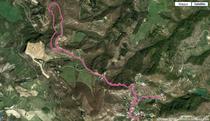 Percorso effettuato visto su Google Earth