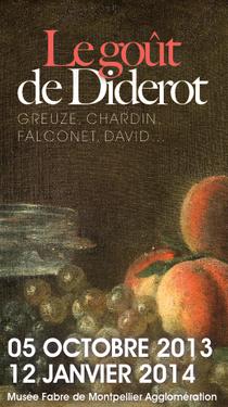 """Jusqu'au 12 janvier retrouvez Diderot au Musée Fabre (Montpellier) avec l'exposition """"Le goût de Diderot"""""""