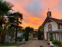 Parc et chapelle