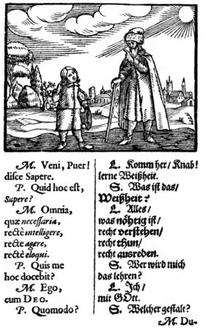 Titelbid der Didactica Magna von Amos COmenius