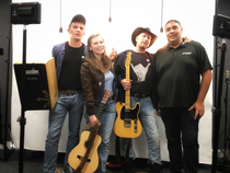 Zoee & The Band at BBC Bristol before the US Tour