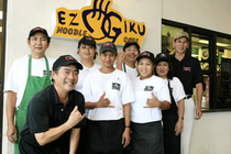 Ezogiku Pearl City and Staffs