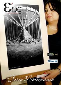 in foto la copertina di Ѐos Sicilia Magazine (Luglio 2014)