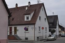 Schmiedstraße 15 (r (d.i. die rechte Haushälfte), 2013, Foto: M. Werner