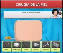 Simulador medico, Cirugia de la piel, medicina
