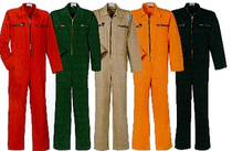 Kleurrijke overalls