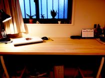 赤松集成材の天板
