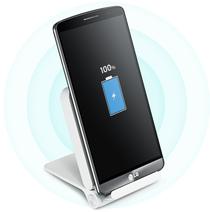Carga inalámbrica del LG optimus G3