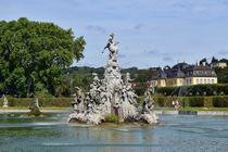 Der Hofgartensee in Veitshöchheim