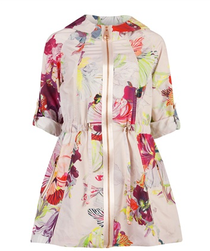 Ted Baker printed rain coat