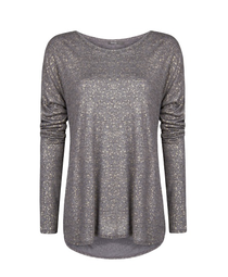 Mango metallic T-shirt