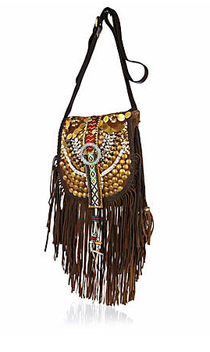 River Island fringed embellished bag