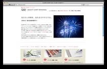 QSDのWebサイト