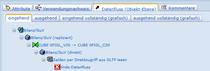 SAP-BW Beispiel - Datenfluss eingehend (hierarchisch)