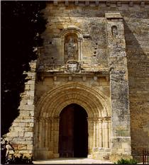 Portail principal - Façade Sud