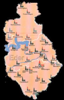"""Alter"" Kirchenkreis der Eder"
