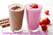 Prenez un petit-déjeuné vitalité avec nos produits Figuactiv et l'aloe vera.