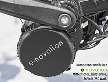 Mittelmotor des Cyco e-Bikes