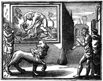 Le Lion abattu par l'Homme