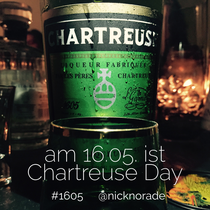 Am 16.05. ist Chartreuse Day