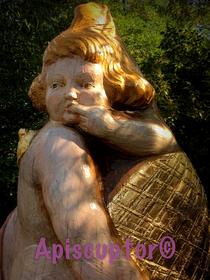 Flugloch im Maul der Schlange, Figurenbeute ADAM&EVA