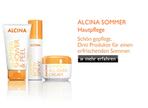 ALCINA SonnenSchutz für Haar + Haut sind da!