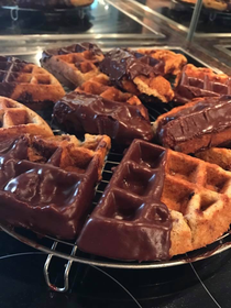 Snickers Waffeln