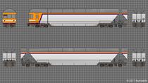 C2101編成 上:10号車 下:9号車