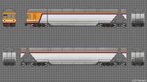 C2105編成 上:10号車 下:9号車