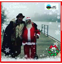 Babbo Natale sul fiume