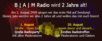 2 Jahre B | A |  M Radio