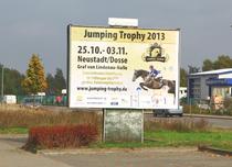 Jumping Trophy Großflächenwerbung (Foto: Andreas Pantel)