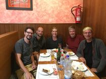 Volker, Christian, Theo, Dennis