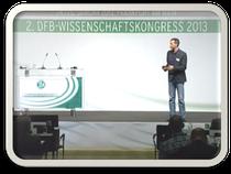 Jens Kleinert berichtet über Sportpsychologie beim DFB Kongress