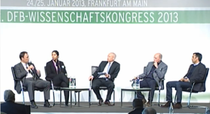 Podiumsdiskussion beim DFB Kongress