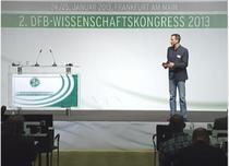 Jens Kleinert beim DFB Kongress
