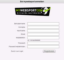 Registrationsformular