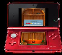 Neige deinen Nintendo 3DS, um Futter zu mischen