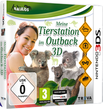 Packshot Tierstation Outback 3D